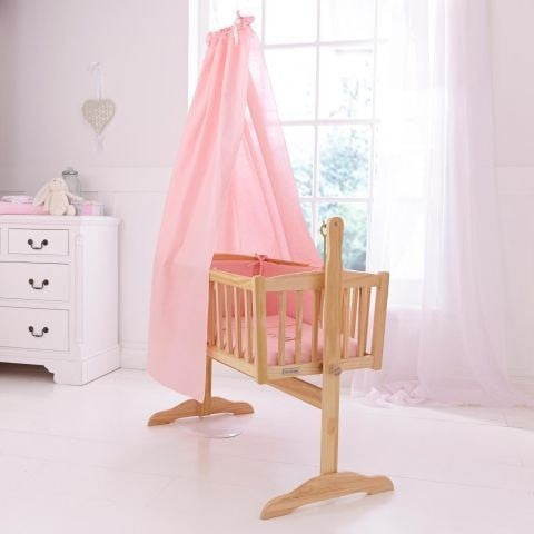 Clair de lune freestanding l drape and rod set in pink 2 grande