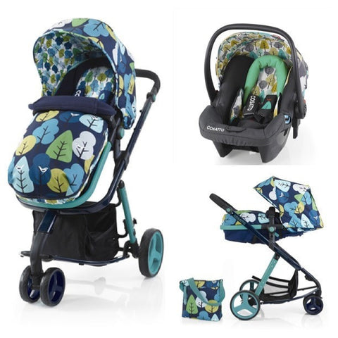 Cosatto Woop 3 In 1 Travel System With Car Seat - Nightbird
