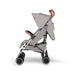 Ickle Bubba Discovery Stroller - Grey on Silver Frame