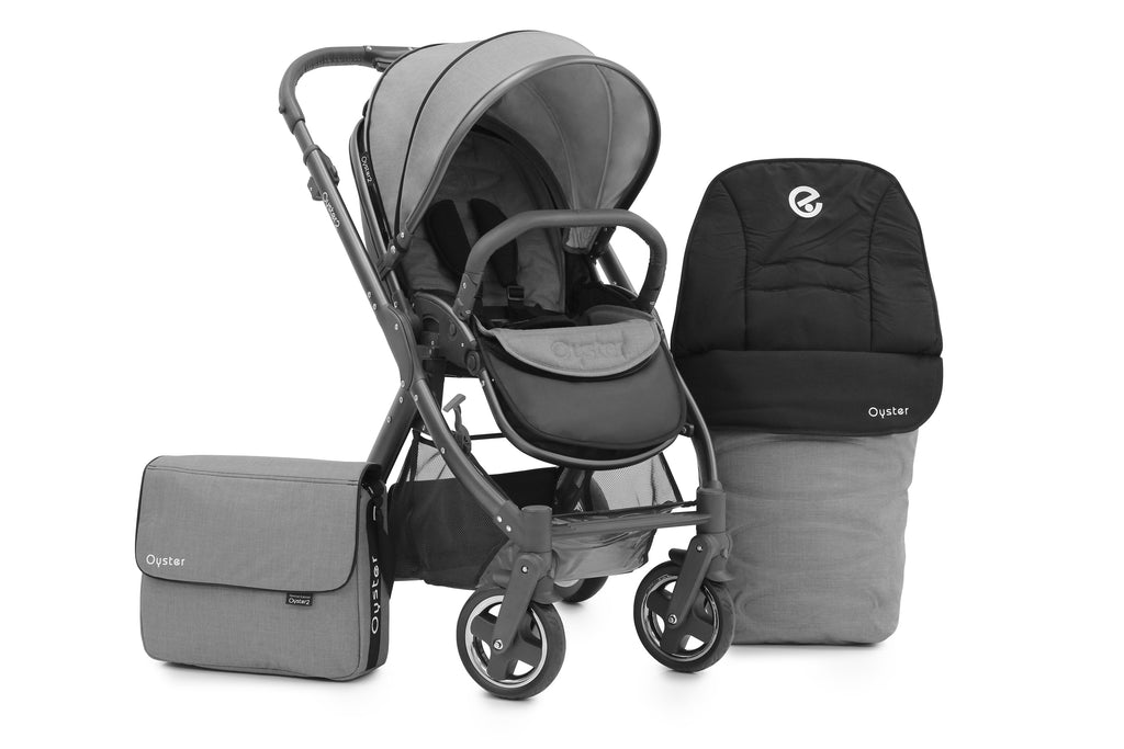 Babystyle Oyster 2 City Grey