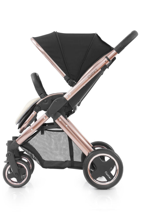 BabyStyle Oyster 2 Ink Black - Rose Gold Edition
