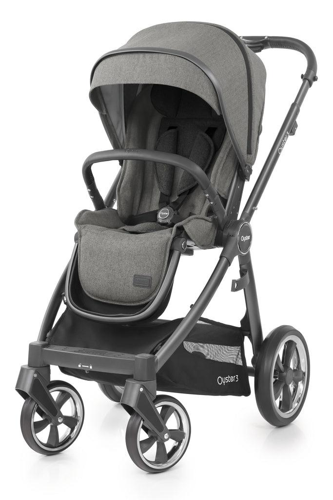 Babystyle Oyster 3 Pram Mercury - City Grey Chassis