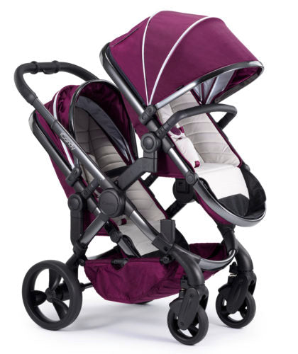 iCandy Peach Travel System Bundle Damson Blossom - Phantom Chassis