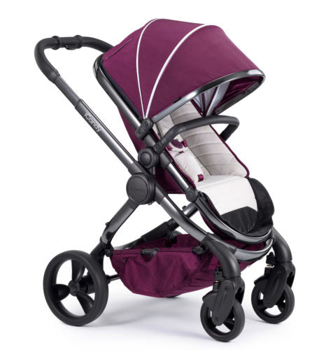iCandy Peach Travel System Bundle Damson - Phantom Chassis