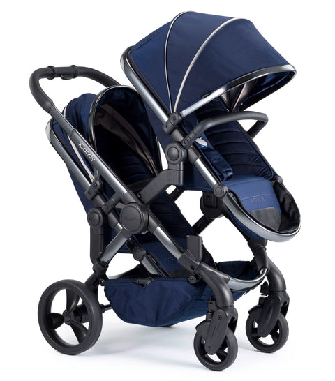 iCandy Peach Travel System Bundle Indigo Blossom - Phantom Chassis