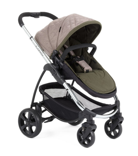 iCandy Strawberry 2 Cambridge + Free Footmuff - Chrome Chassis
