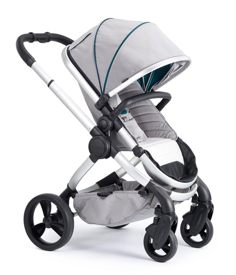 iCandy Peach Travel System Bundle Dove Grey - Satin Chassis