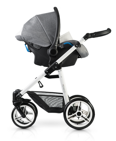 Venicci Pure 3in1 Travel System - Denim Grey