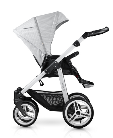 Venicci Pure 3in1 Travel System - Stone Grey