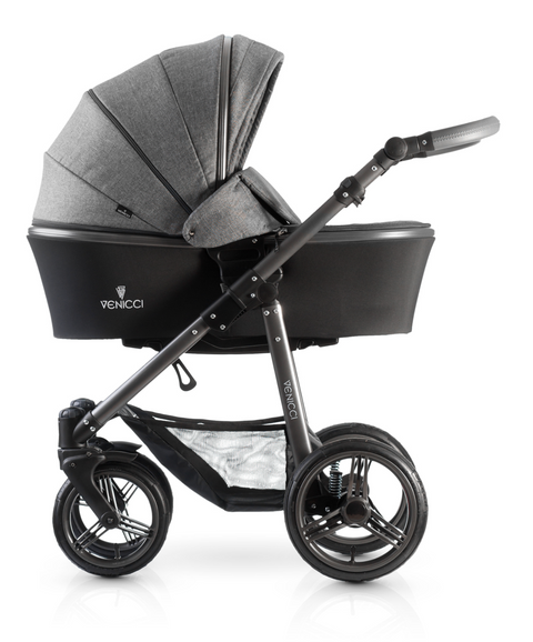 Venicci Carbo 3in1 Travel System | Grey