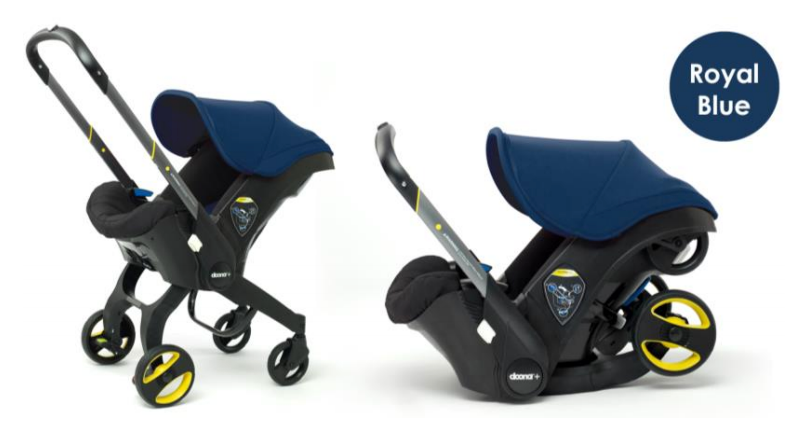 Doona Infant Car Seat Stroller - Royal Blue
