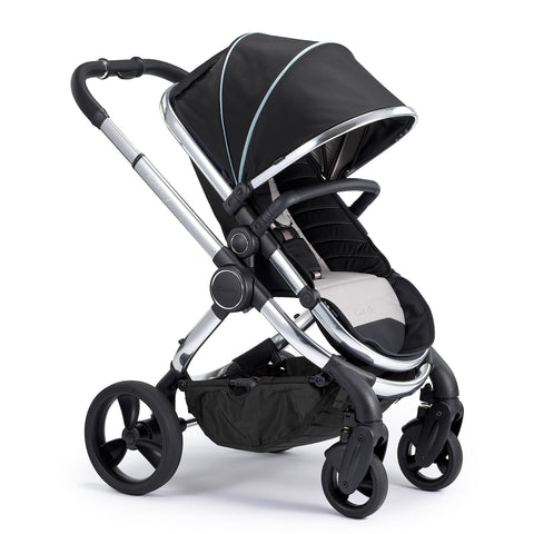iCandy Peach Travel System Bundle Beluga - Chrome Chassis