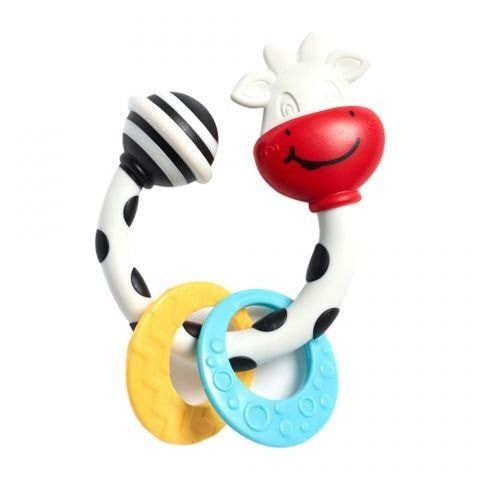 Tiny Love Rattle Cow Teether