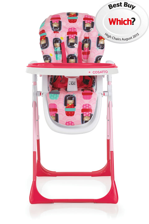 Noodle Supa Highchair - Kokeshi Smile