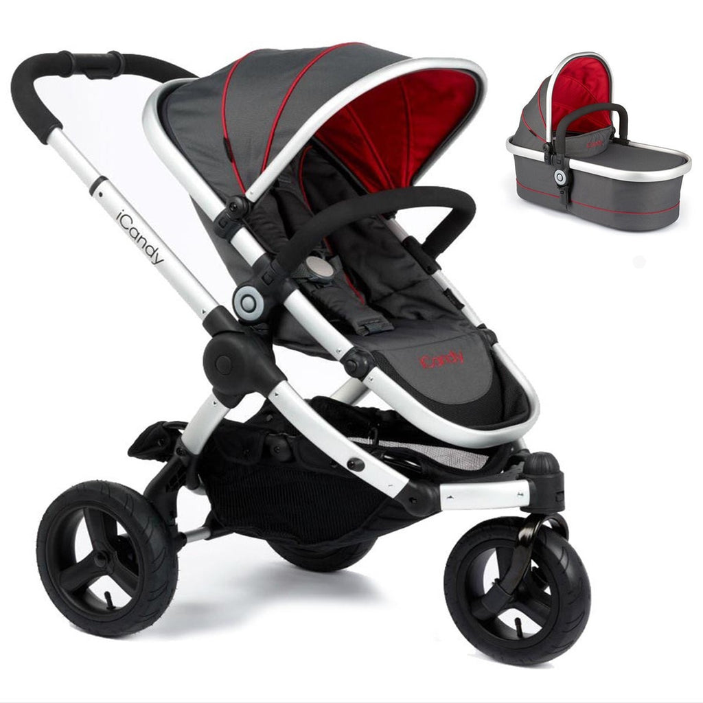 Peach All - Terrain Pace with Carrycot
