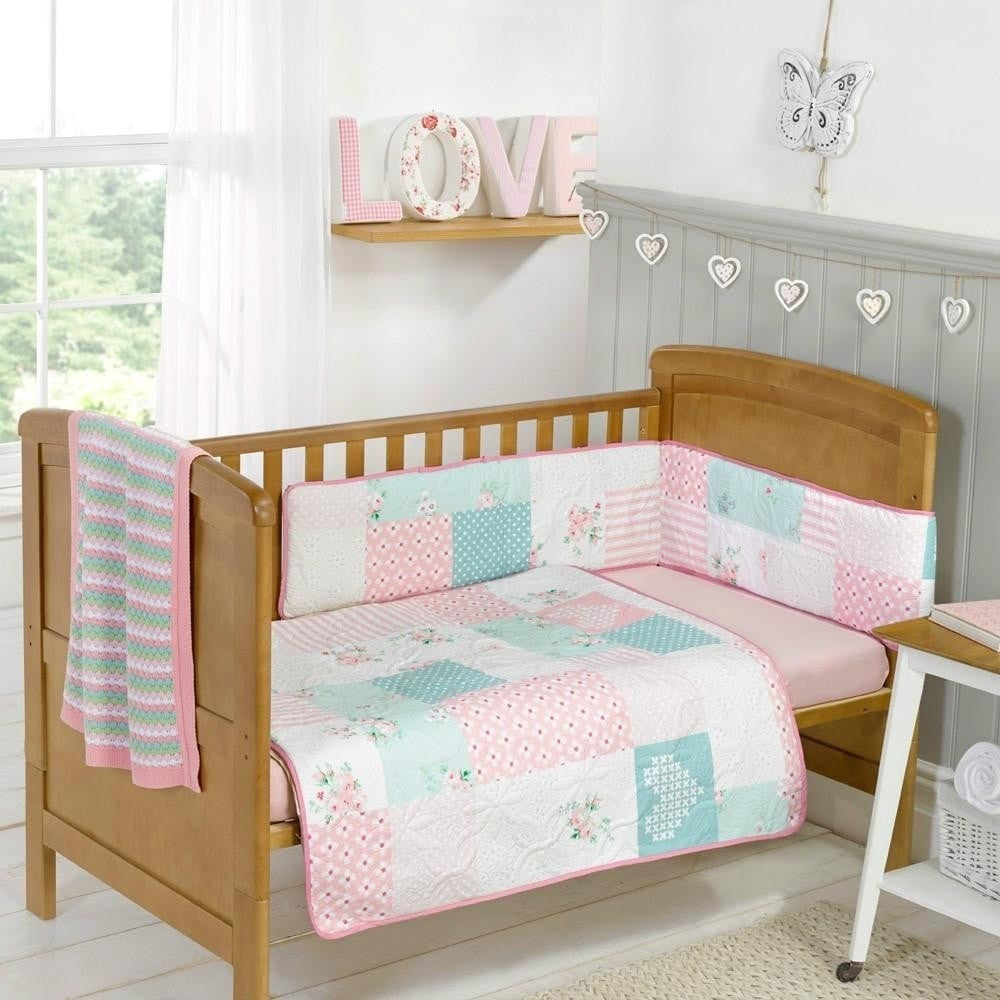 BabyStyle 3 Piece Bedding Set - Vintage Rose