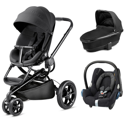 Quinny Moodd Travel System - Black Devotion