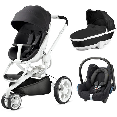 Quinny Moodd Travel System - Black Irony