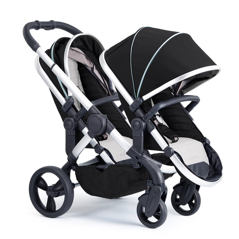 iCandy Peach Beluga Twin - Satin Chassis