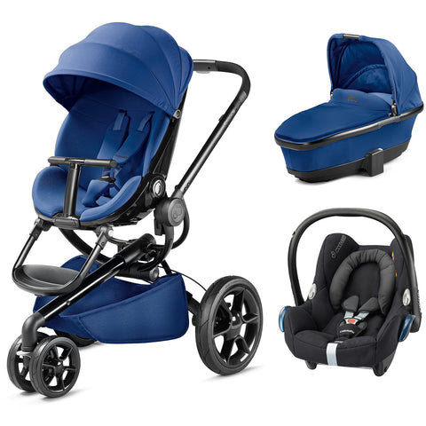 Quinny Moodd Travel System - Blue Base
