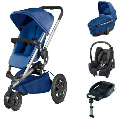 Buzz Xtra 3 in 1 travel system package - Blue Base