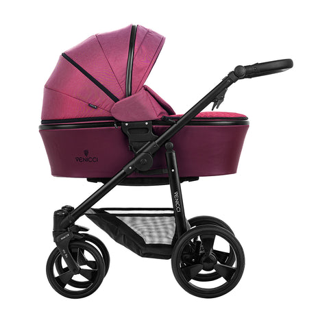 Venicci Italy 2 in 1 Pushchair (Bordeaux)