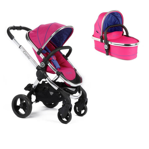 iCandy Peach Stroller with Carrycot - Bubblegum