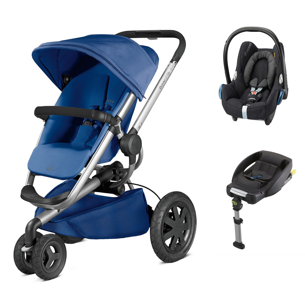 Buzz Xtra 2in1 Travel System - Blue Base