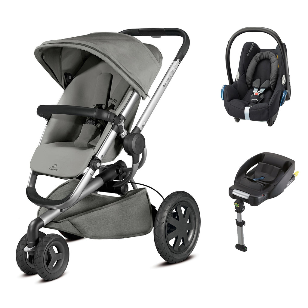 Buzz Xtra 2in1 Travel System - Grey Gravel
