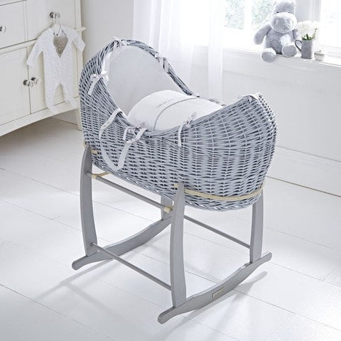Clair de Lune Noah Pod - Grey With White Silver Lining