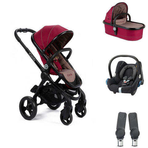 iCandy Peach Travel System - Claret
