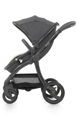 egg prams quantum grey
