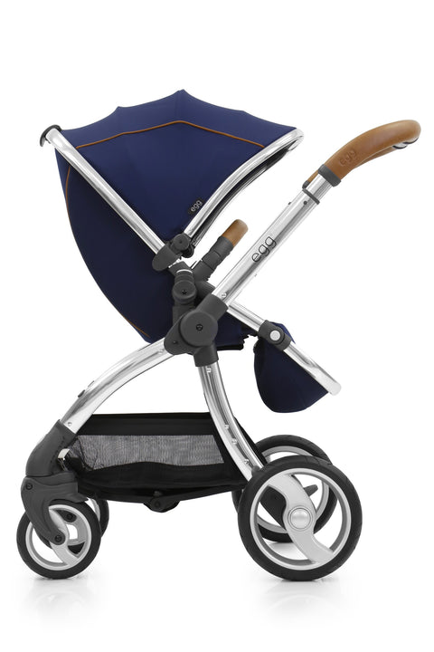 Egg Stroller In Regal Blue + Free Seat Liner