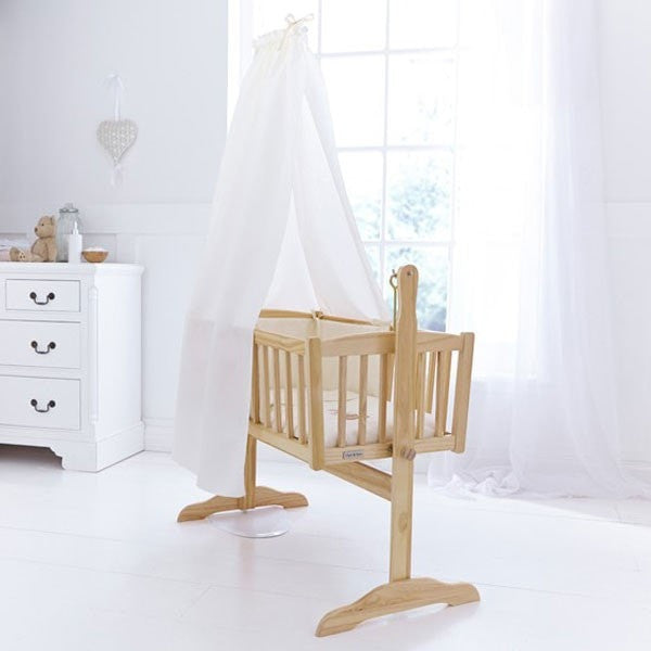 Clair De Lune - Cream Freestanding Rod And Drape Set