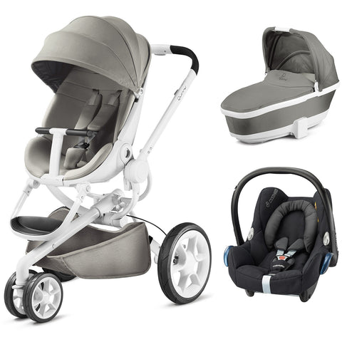 Quinny Moodd Travel System - Grey Gravel