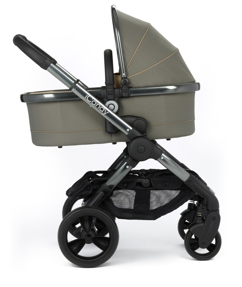 iCandy Peach Stroller and Carrycot - Olive