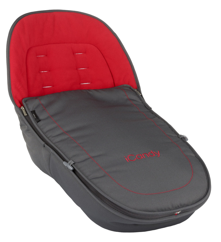 Icandy peach all terrain footmuff - pace