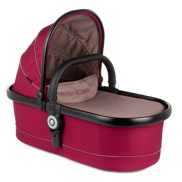 iCandy Peach Main Carrycot - Claret