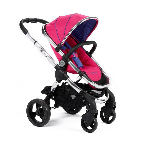 iCandy Peach Pushchair With Free Footmuff - Bubblegum