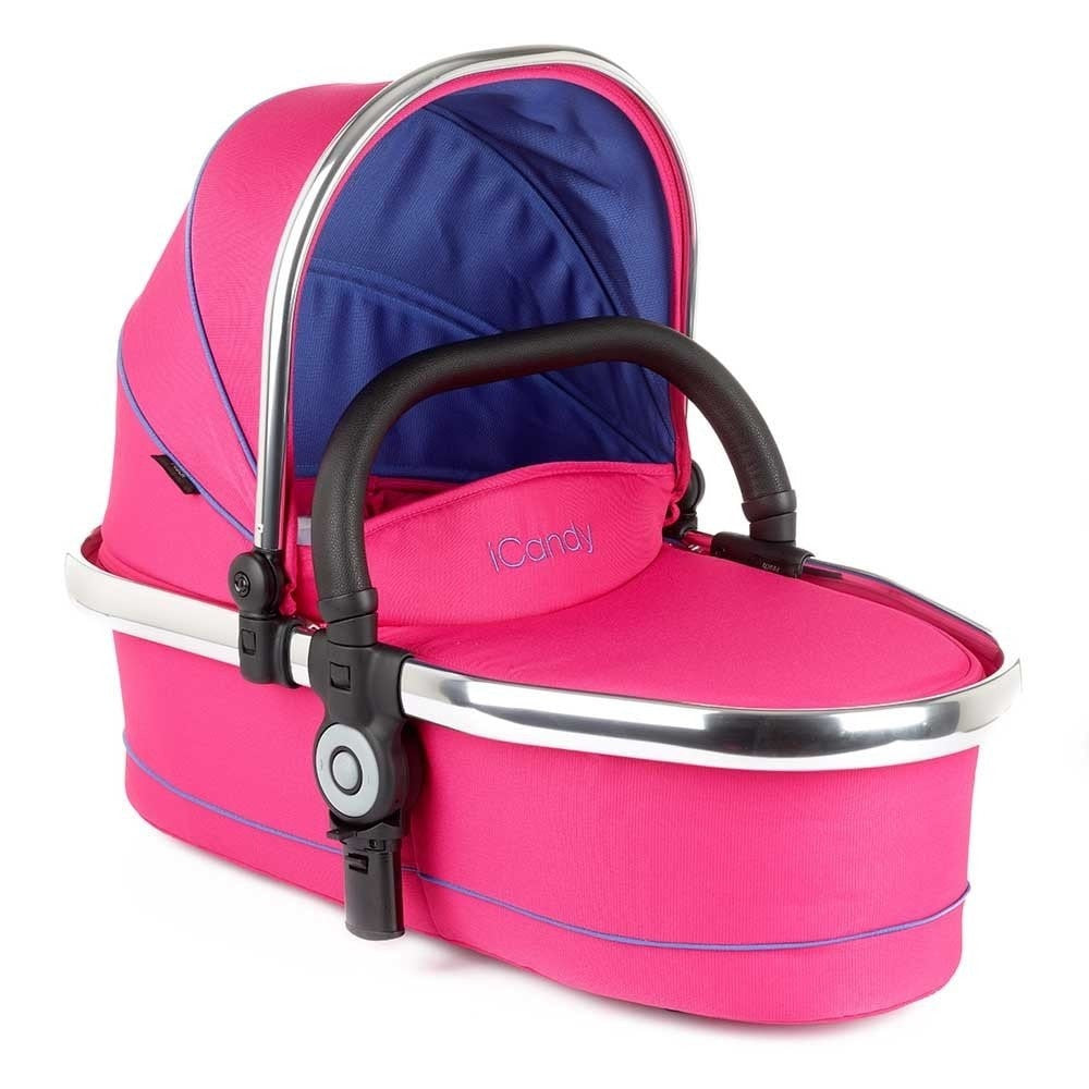 iCandy Peach Twin Carrycot - Bubblegum