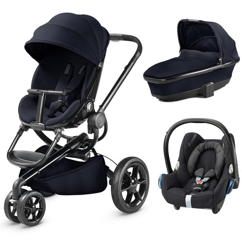 Quinny Moodd Travel System - Midnight Blue