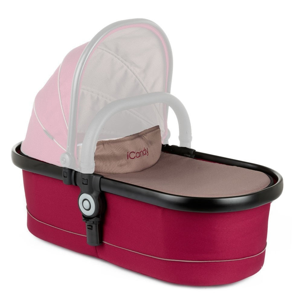 iCandy Peach Main Carrycot Base - Claret