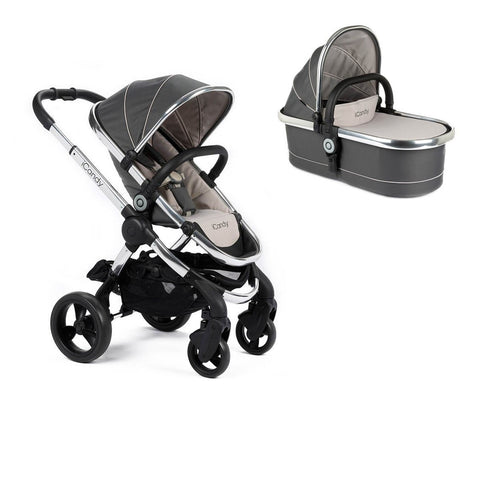 iCandy Peach Stroller And Carrycot - Truffle 2