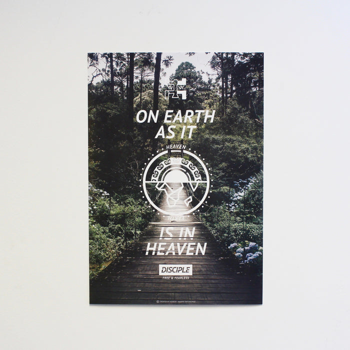 Heaven & Earth Poster