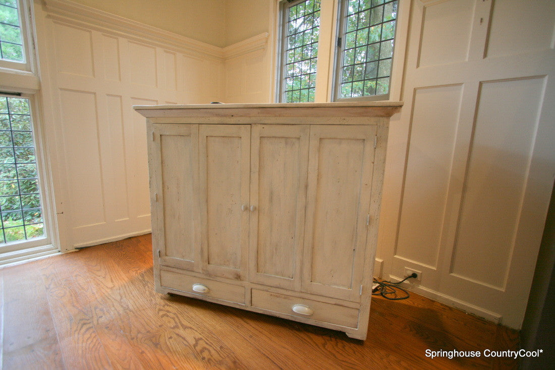 Custom media cabinets - Springhouse Furnishings