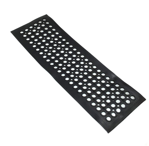 Industrial Large Heavy Duty Rubber Ring Mat Safety Floor Matting Kitchen 30x90cm