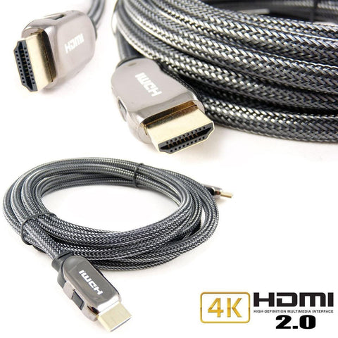HDMI Cable v2.0 Premium ( Gold Plated HDTV 1080P 3D 4K Ultra HD ARC CES 2160p )