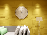 Natural Bamboo 3D Wall panel Decorative Wall Ceiling Tiles Cladding Wallpaper, Name- 'Arnold',