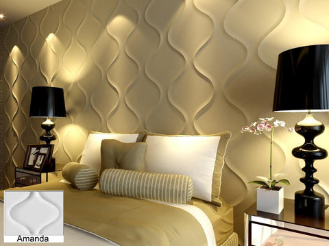 Natural Bamboo 3D Wall panel Decorative Wall Ceiling Tiles Cladding