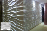 Natural Bamboo 3D Wall panel Decorative Wall Ceiling Tiles Cladding Wallpaper, Name- 'Faktum',